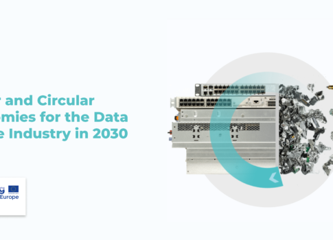 Linear and Circular Economies for the Data Centres in 2030