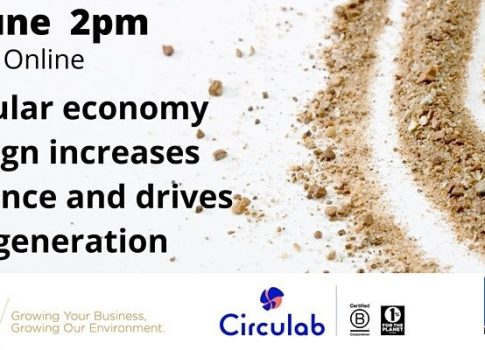 Circular economy design increases resilience and drives regeneration