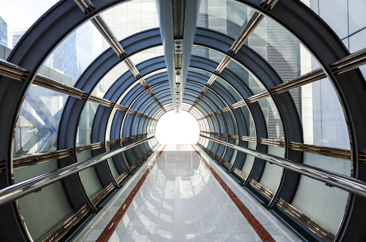 circular tunnel structure